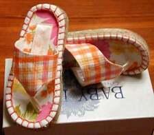 NIB  BABY LULU HTF Southern Rose Sandals Flip Flops 6 5
