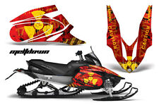 YAMAHA APEX GRAPHIC STICKER KIT AMR RACING SNOWMOBILE SLED WRAP DECAL 06-11 MELT