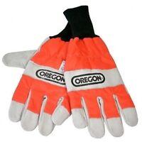 Oregon chainsaw safety gloves (size medium)
