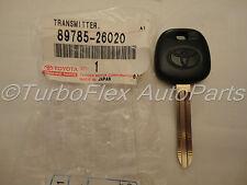 Toyota Transponder Blank Key Genuine OEM  89785-26020