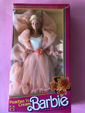 BARBIE PEACHES 'N CREAM MADE IN TAIWAN MIB 1984