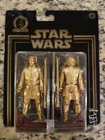 2019 Obi-Wan Kenobi & Anakin Skywalker Star Wars Gold Commemorative Edition NIP