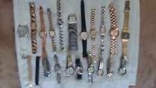 Lot of 19 vintage ladies watches & bands relic timex armitron