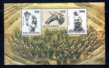 SAN MARINO - BF - 1986 - Arte cinese. 15° rapporti ufficiali con Rep Pop. Cinese