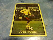 Figurina Vallardi Campionissimi Calcio Europeo n°27 JOSE' TOURE'
