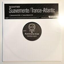 "♪♪ Scooter-Suavemente/Transe-ATLANTIC Promo Germany 12"" Vinyle RARE ♪♪"
