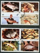 ISO (SWEDEN) 1975 FOOD FISH COMPLETE SET OF 8 STAMPS!