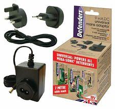 STV612 UK & EU Cat Dog Repeller 5 Metere 9V Mains Plug Adaptor Universal