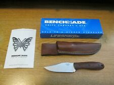 Benchmade 180 Outbounder Knife W/Leather Sheath & Box 440c