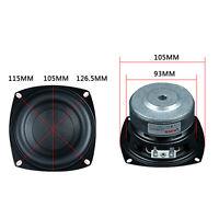 "4"" Inch 4Ω 40-100W Subwoofer Woofer High Power Long Stroke Speaker Loudspeaker"