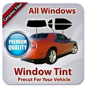 Precut Ceramic Window Tint For Ford Focus 4 Door Hatch 2011-2014 (All Windows CE