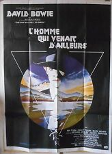 THE MAN WHO FELL TO EARTH French movie poster 47x63 1976 David BOWIE Stunning !