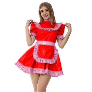 PVC Sissy Maid Skirt Cosplay Costume Customization