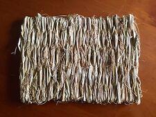 Small Grass Mat (28x21cm) Pet Rabbit Guinea Pig Hamster Natural Woven Straw Hay