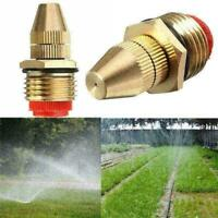 1/2Inch Adjustable Nozzle Spray Nozzle Tool Spray Cooling Brass Sprinkler S F2D5