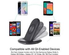 Wireless Qi Fast Charger Charging Stand Dock for Iphone 8/X/Samsung S9/S9 +
