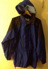 Men's Med Columbia Blue 3/4 Drawstring Jacket