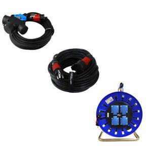Rallonge Câble Électrique 230V pour l'Exetieur Ménager Multiprise Enroleur