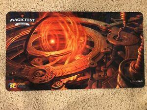 Magic the Gathering Magicfest Commander Playmat Sol Ring MTG Channel Fireball