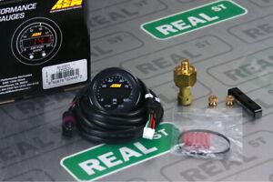AEM X Series Oil Fuel Pressure Gauge 0-100 psi Black/Black 30-0301