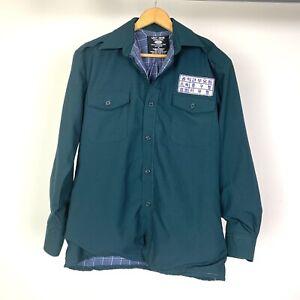 Grit Iron Workwear Mens Long Sleeve Jacket Size Medium Heavy Construction Cotton