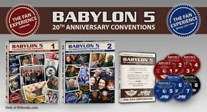 Babylon 5: 20th Anniversary Fan Experience Out-of-Print 2-book, 8-CD-ROM set