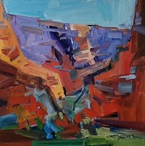 JOSE TRUJILLO Oil Painting IMPRESSIONISM CONTEMPORARY Landscape ORIGINAL
