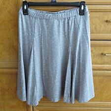 Women's Max Edition gray white rayon skirt size S brand new NWT $78.00