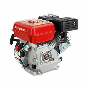 EBERTH 6,5 PS 4,8 kW Benzinmotor Standmotor Kartmotor Motor 4-Takt 1 Zylinder