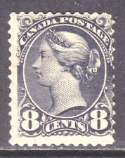 CANADA #44c 8c GREY, 1893 SQ, OG-NH
