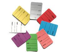 8 Color 100 Pcs One Part Price Coupon Tag Clothing Price Tagging Gun Hang Label