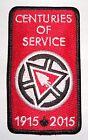 Order of the Arrow 2015 NOAC OA Centennial Centuries of Service Award Patch
