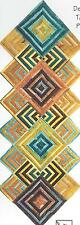 Mitered magic table runner & placemats quilt pattern by Eileen Sullivan