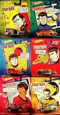 Hot Wheels 1:64 2014 Pop Culture Star Trek Complete Set 6 Jeep Ford Chevy Dodge