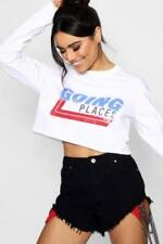 Boohoo Long Sleeve Plus Size Tops & Shirts for Women