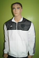 Adidas 11p wov jaket Weiss negro talla L Soccer fútbol Performance