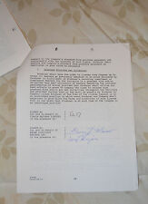ICE-T contract rap west coast 44 pages signed LAW & ORDER 1993 Cop Killer signed