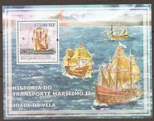 MOZAMBIQUE HISTORY OF SHIPS (2) MNH