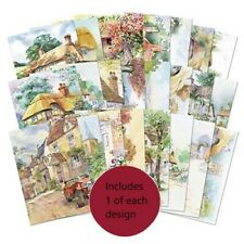 Hunkydory ~ A6 toppers  ~ **24 sample pages** ~ Cottages and Village Scenes