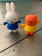 Miffy's Adventures Miffy & Grunty  toy figures or cake topper