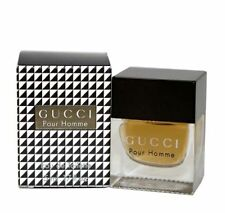 Gucci Pour Homme Men 0.17 .17 oz 5 ml Eau De Toilette Dab-On Splash Nib