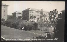 RP Postcard LAKELAND FL  Southern College Allen Spivey Hall Building 1930's