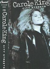 CAROLE KING CITY STREETS CASSETTE ALBUM Folk Rock Soft Rock  Pop Rock CAPITOL UK