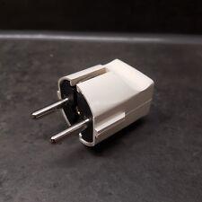 Stecker Schutzkontakt PVC PCE stecker weiß Stromstecker Kunststoff 230 V