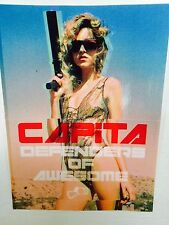 "CAPiTA, Snowboard, Defenders of Awesome, Sticker, 5-1/2"" x  4-3/8"""
