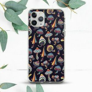 Indie Hippie Psychedelic Mushrooms Case For iPhone 7 8 X SE 11 12 13 Pro Max XR