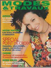 Modes et travaux  N°1035 Juin 1995 couture tricot patron poupée mannequin