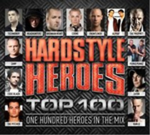 Various Artists-Hardstyle Heroes Top 100 (US IMPORT) CD NEW