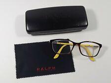 Ralph Lauren Eyeglasses Frames RA7044 1142 52-16-135 Tortoise/Yellow with Case