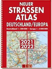 Neuer Straßenatlas Deutschland/Europa 2021/2022 (2020, Taschenbuch)